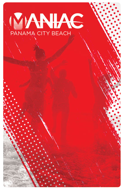 Maniac VIP Card Panama City Beach
